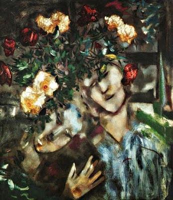 Els amants de les flors (Marc Chagall)