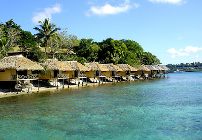 Vanuatu fishing boat