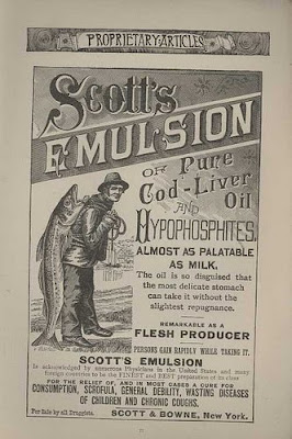Scott's Emulsion bottle label