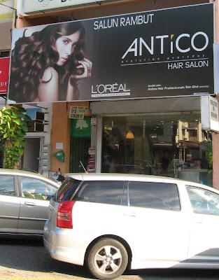Antico Hair Saloon Damansara Utama Uptown