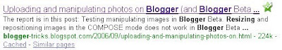 search engine result page post title before blog title