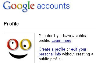 Edit Google Profile