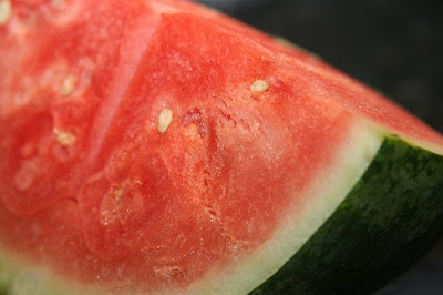 ripe red watermelon