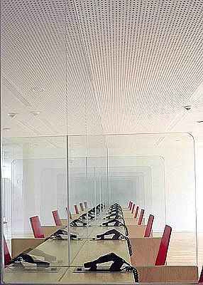 meeting room of modern building