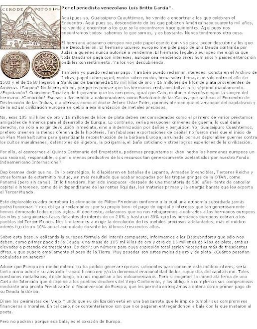 DISCURSO DEL CACIQUE CUAUHTËMOC