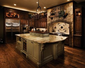 Selena 39 s french cottage gothic naturalist steampunk for Old world style kitchen designs