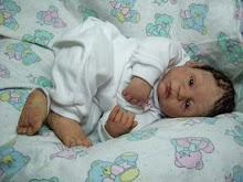 polymer clay baby boy