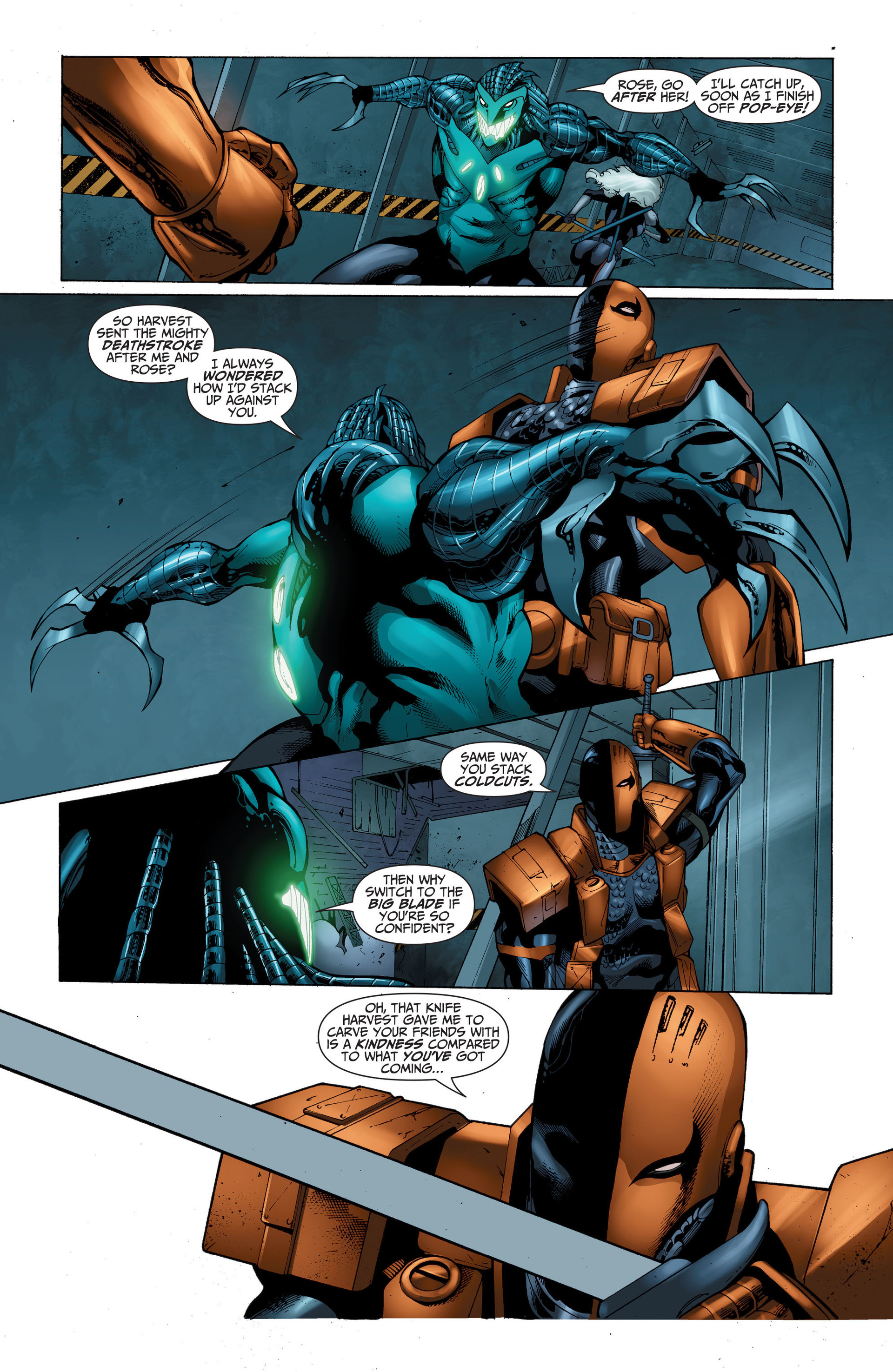 Read online The Ravagers comic -  Issue #11 - 16