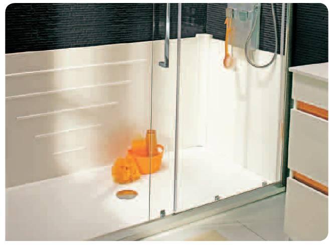 Ba o con ducha de la ba era a la ducha una peque a reforma - Quitar silicona azulejos ...