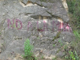 No a la mina