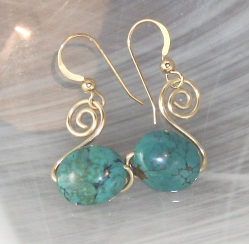 3 beginner wire wrapped earrings brandywinejewelrysupply