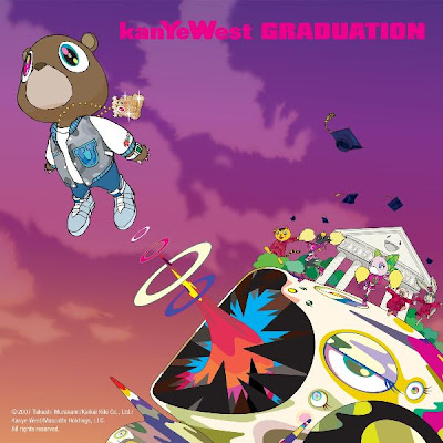 kanye west graduation album cover. kanye west graduation album