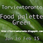 Food palette green