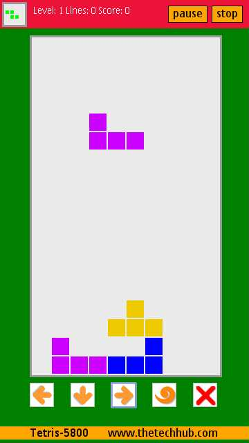 Tetris Game Nokia C1 01 - Download Free Apps - rootrutracker