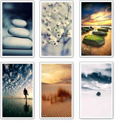 Here are new nature wallpapers for Nokia 5800 XpressMusic, N97,