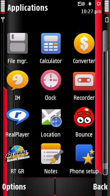 Animated Wallpaper For Nokia 5800. This theme works well without