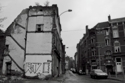 Liège, quartier nord, rue Vivegnis, photo © dominique houcmant
