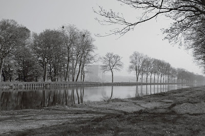 Strepy-Thieu, le canal du centre, l'ascenseur à bateaux de Strépy-Thieu, photo dominique houcmant, goldo graphisme