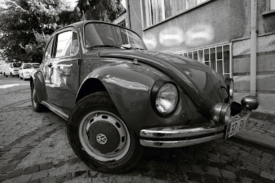 VW beetle, ancienne Volkswagen Coccinelle, oltimer, ancêtre, photo © dominique houcmant
