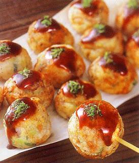 takoyaki - spécialité cuisine japonaise