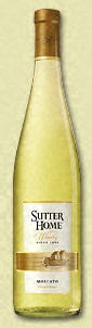 White Wine - Sutter Home Moscato