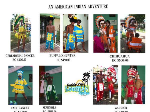 St.Lucia Carnival 2010: Rituals & Looshan Revellers Costumes