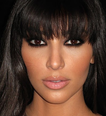 "how to smokey eye makeup. Kim Kardashian#39;s ""Smokey Eye"""