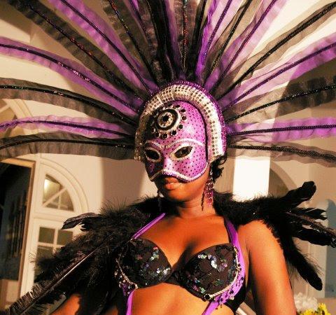 St.Lucia Carnival 2010: La Mosaique Costumes