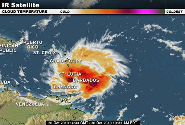 LIVE Pictures, Video & Updates of Hurricane Tomas