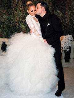 Nicole Richie's Grace Kelly-inspired Marchesa Wedding Gown