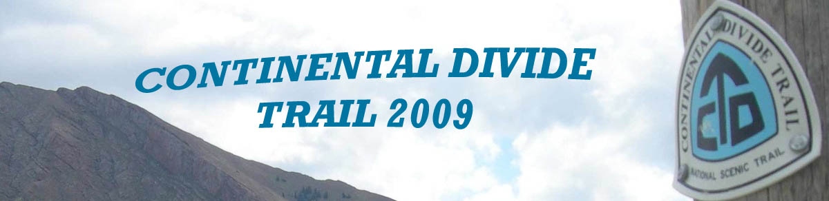 Continental Divide Trail 2009
