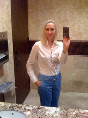 blue pants @ Brittany's Cleverly Titled Blog