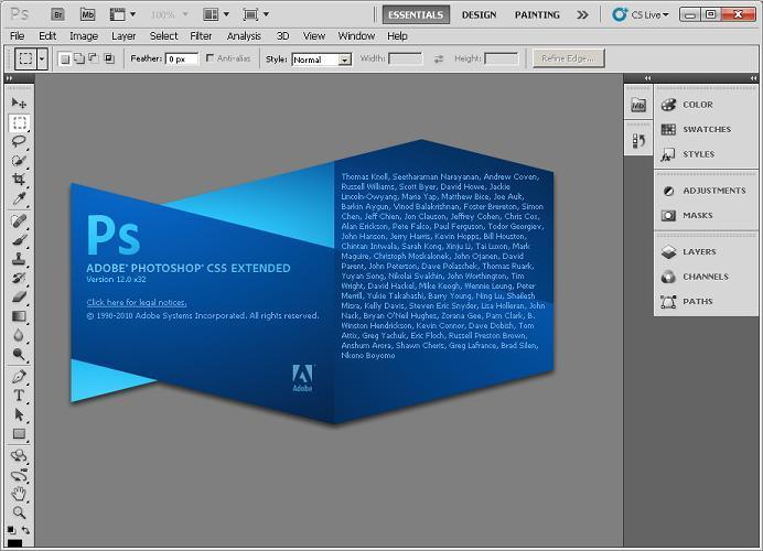 Adobe Photoshop Cs5 Portable [64.6MB] Only! Apcs5e