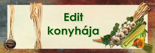 Edit konyhája