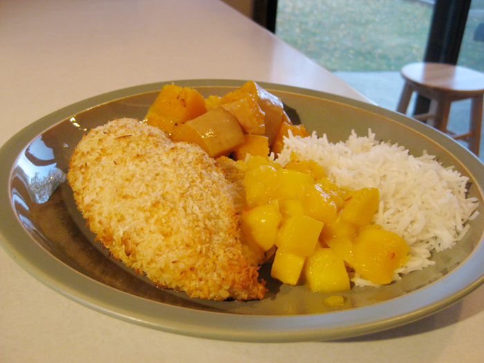 Spicy Mango And Coconut Chicken Recipe — Dishmaps