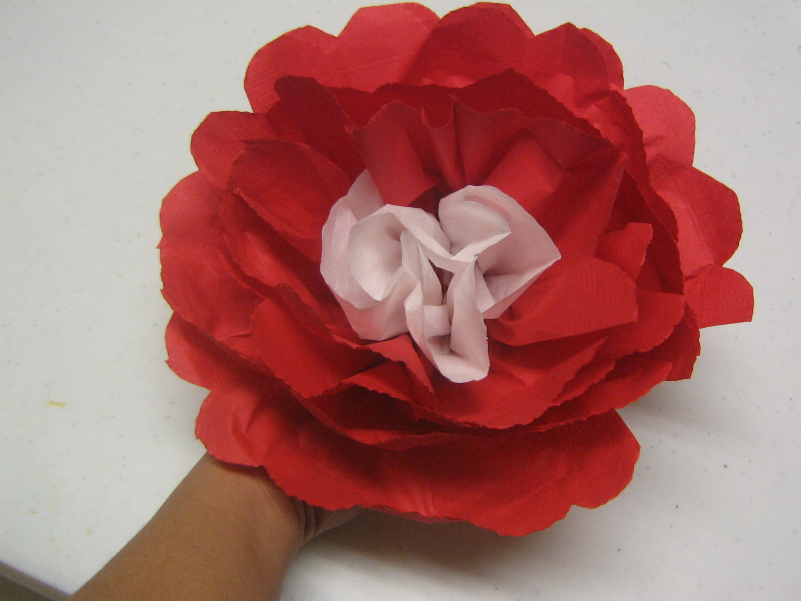 Multicultural Crafts Napking Paper Flowers