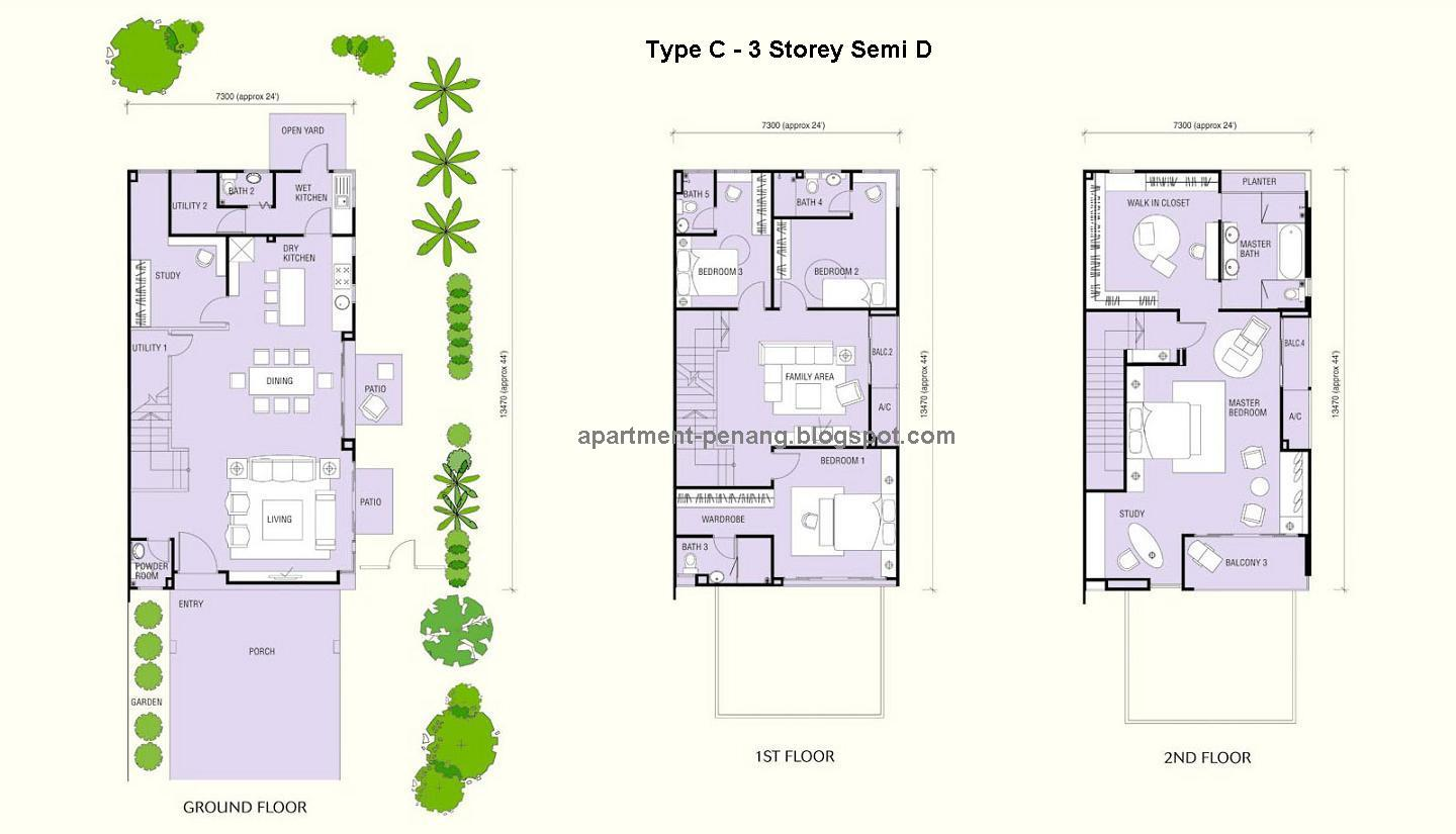 Garden By The Bay Floor Plan 100+ [ one surin floor plan ] | lakeville residences new launch