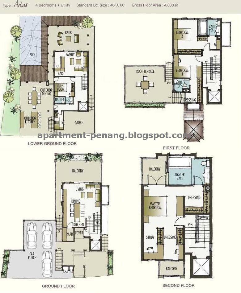 Moonlight Bay Apartment Penang Com