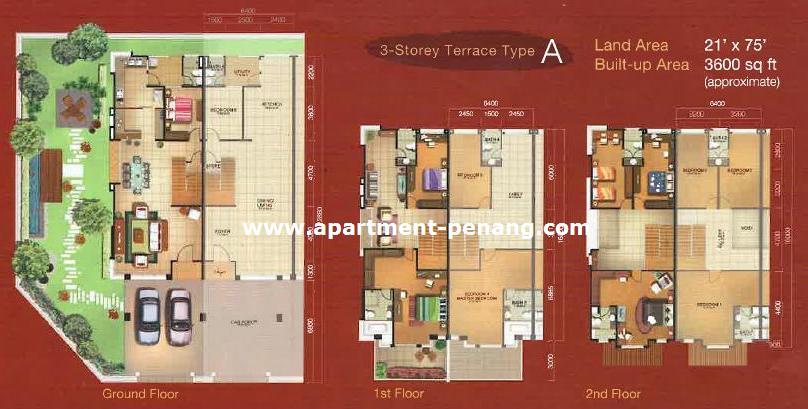 Bl Garden Penang Floor Plan Garden Ftempo