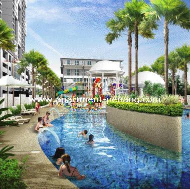 Palma laguna water park condo apartment - Seberang jaya public swimming pool ...