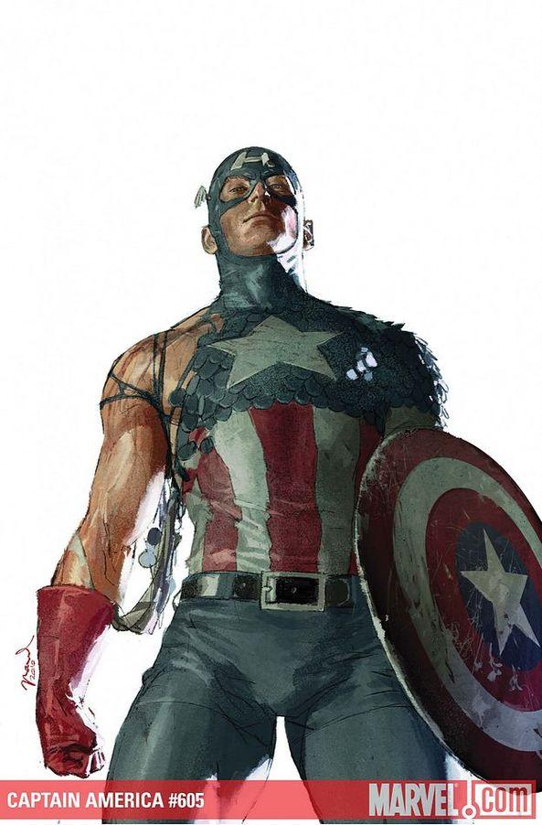 Deadpool as Captain America (Marvel Comics)