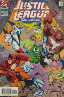 Justice League International #60 - Comic of the Day