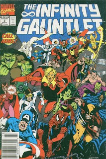 The Infinity Gauntlet #3 - Comic of the Day