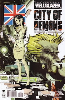 Hellblazer: City of Demons #2 - Comic of the Day