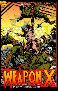 Weapon X - Comic of the Day