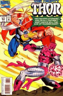 Thor #473 - Comic of the Day