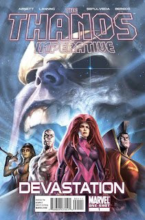 The Thanos Imperative: Devastation #1 - Comic of the Day
