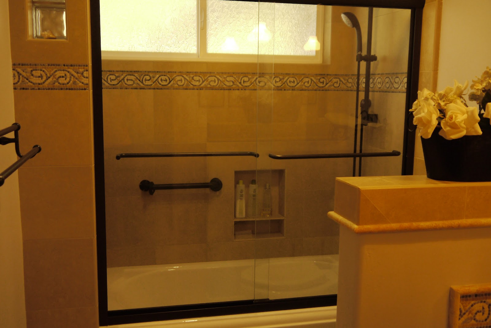Tile Tub Shower Combo
