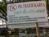 PD. TEGUH KARYA