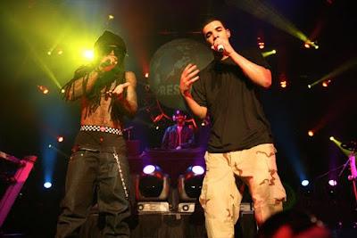 Lil Wayne aparece no show do Drake em Las Vegas